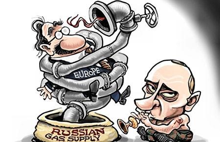 Nga không khóa van khí đốt