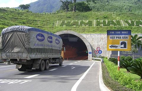 6.200 tỉ đồng mở rộng hầm Hải Vân