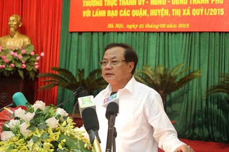 Bí thư Thành ủy Hà Nội nói về vụ chặt cây xanh