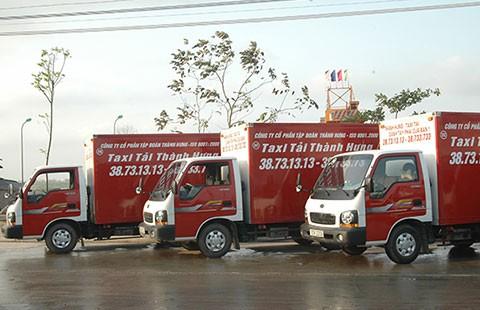 Taxi tải Thành Hưng: An toàn cao nhất cho hàng hóa