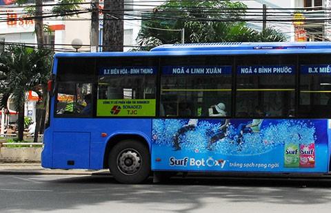 Đề án quảng cáo trên xe buýt: Ì ạch!