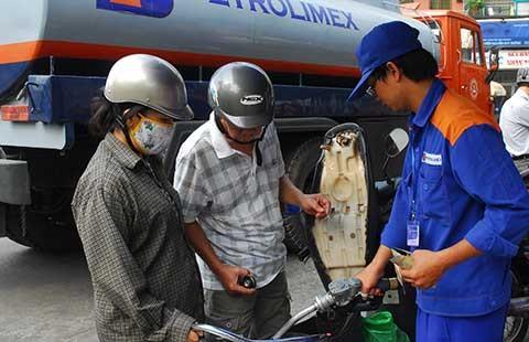 Giữ nguyên giá bán lẻ xăng dầu