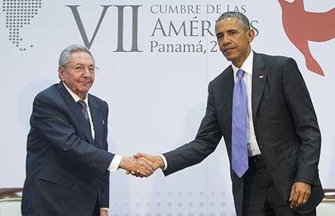 Ngày lịch sử của Obama và Castro