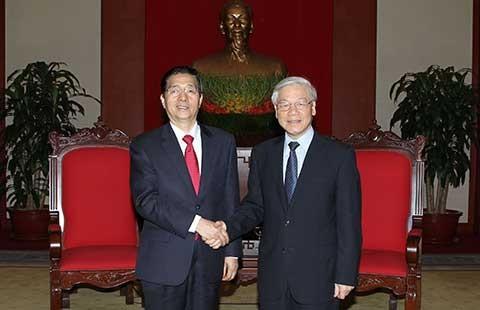 Việt Nam - Trung Quốc đẩy mạnh hợp tác giữa hai Bộ Công an