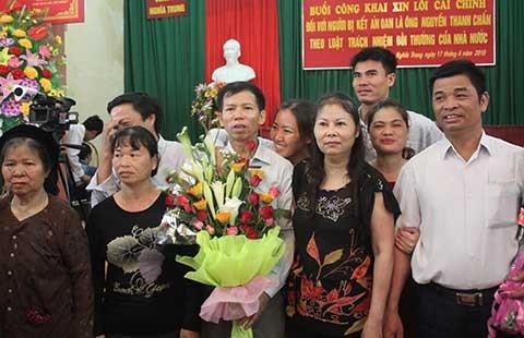 Tòa Tối cao xin lỗi ông Nguyễn Thanh Chấn