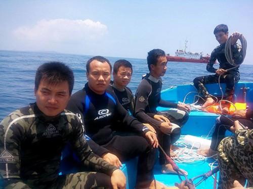 Gần 60 chiến sĩ cảnh sát biển tham gia cứu nạn máy bay Su 22
