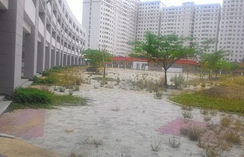 Trường bỏ hoang giữa lòng thành phố