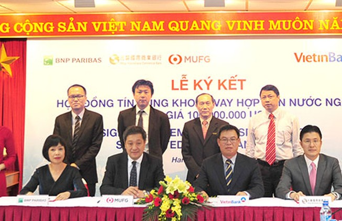 VietinBank ký hợp đồng hợp vốn 100 triệu USD