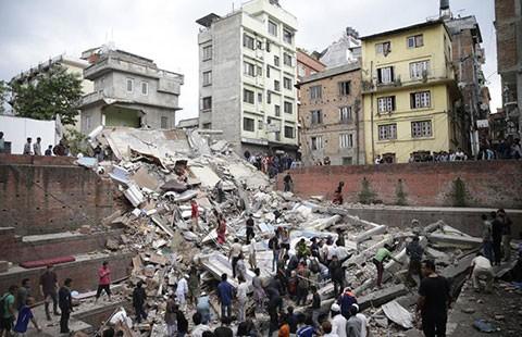 Động đất Nepal, hàng ngàn người chết