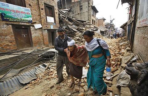 Động đất ở Nepal: Số người chết quá khủng khiếp!