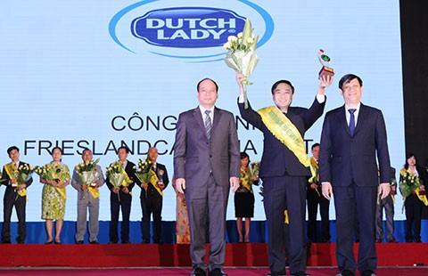 FCV nhận giải thưởng Thương hiệu vàng thực phẩm Việt Nam