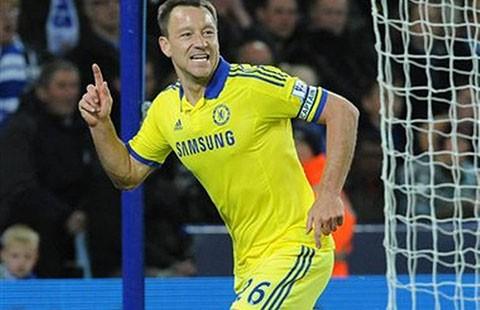 Terry là hậu vệ ghi bàn hay nhất giải Ngoại hạng Anh