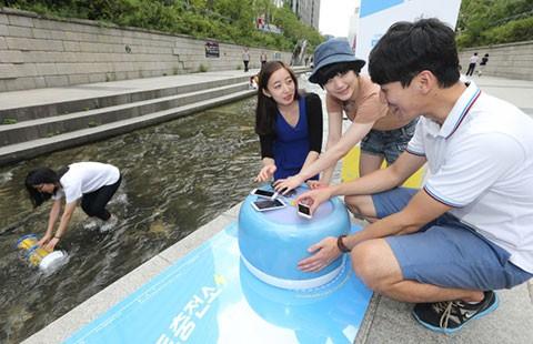 Biến dòng nước bẩn thành tiểu cảnh của Seoul