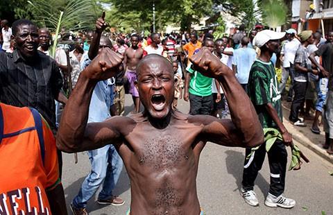 Đảo chính ở Burundi