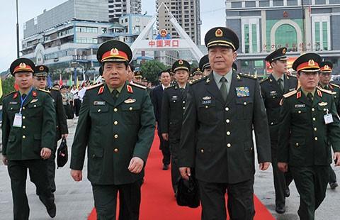 Bộ trưởng Quốc phòng Việt-Trung hội đàm tại biên giới