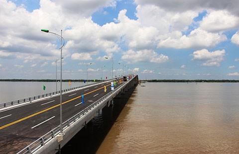 Cầu Cổ Chiên: Rút ngắn 70 km từ TP.HCM đi Trà Vinh