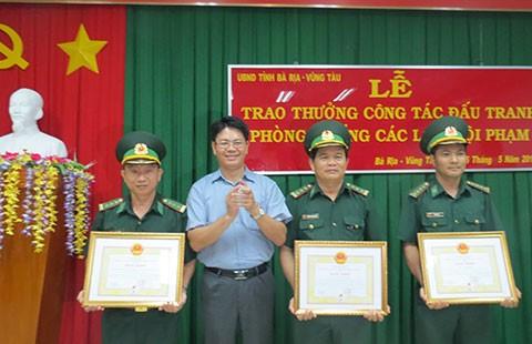 Thưởng 'nóng' biên phòng cảng Bà Rịa-Vũng Tàu