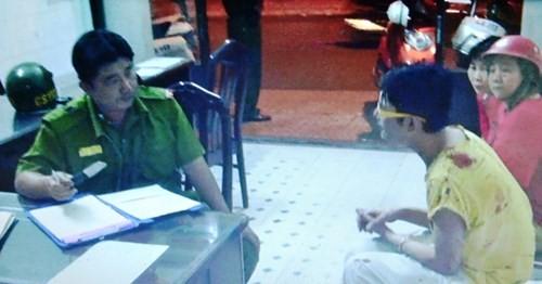 Cảnh sát 113 giải cứu người đàn ông bị kề dao vào cổ