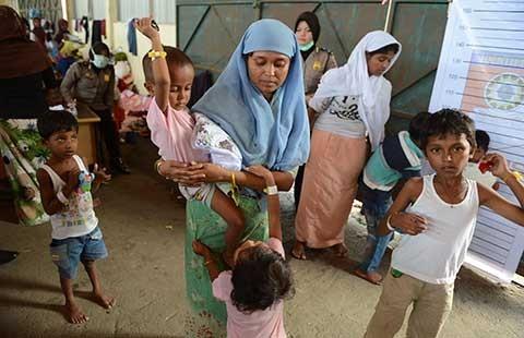 Thảm sát trên tàu tị nạn ở Indonesia