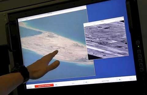 Mỹ cam kết tiếp tục tuần tra trên biển Đông