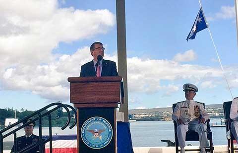 Mỹ vẫn duy trì tuần tra ở biển Đông