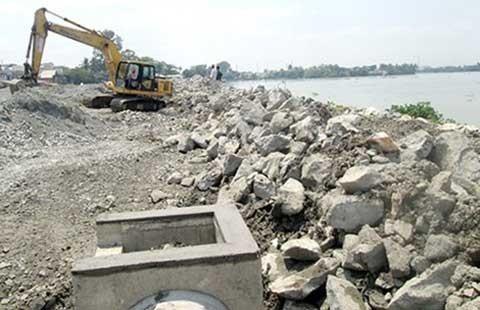 Đề nghị tiếp tục dừng lấn sông đồng Nai