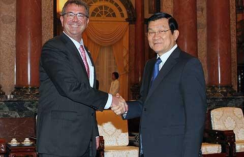Việt Nam - Mỹ tương đồng quan điểm về vấn đề biển Đông