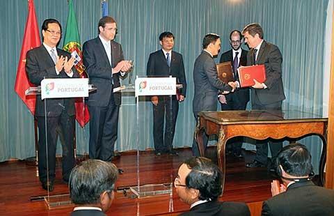 Tạo điều kiện tốt để doanh nghiệp Việt Nam-Bồ Đào Nha hợp tác