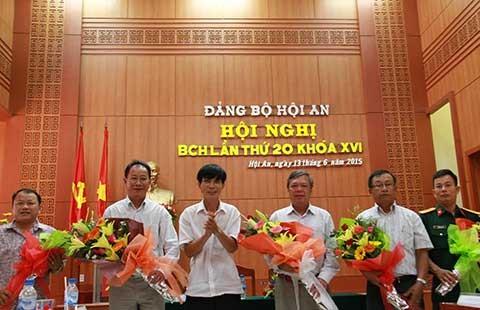 Hội An có bí thư mới thay ông Nguyễn Sự