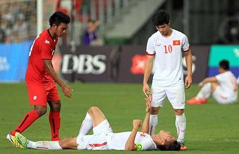 U-23 Việt Nam - U-23 indonesia: Đứng lên, làm lại