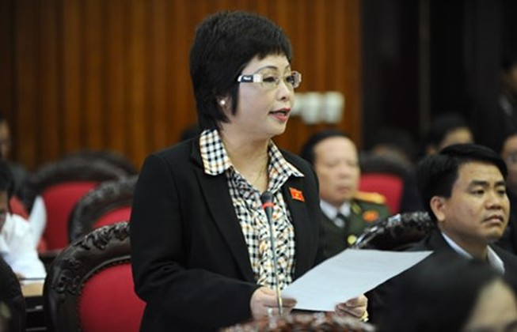 Quốc hội xem xét bãi miễn tư cách ĐBQH bà Châu Thị Thu Nga