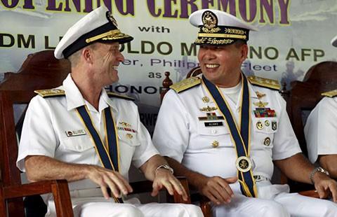 Philippines tập trận với Mỹ và Nhật