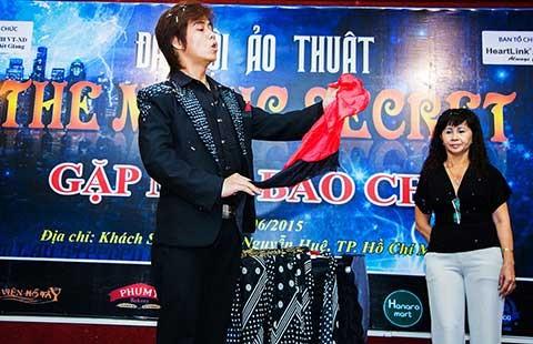 Phận diễn lót của ảo thuật Việt