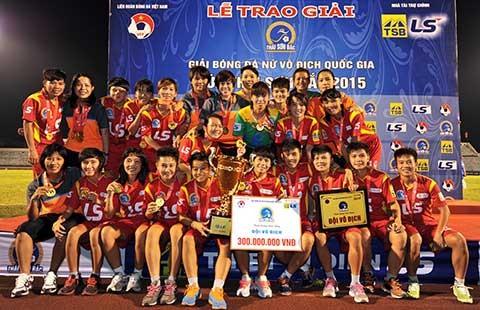 Bóng đá nữ TP.HCM VĐQG 2015: Dấu ấn Kim Chi