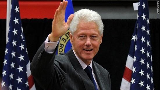 Hôm nay, cựu Tổng thống Mỹ Bill Clinton đến Hà Nội