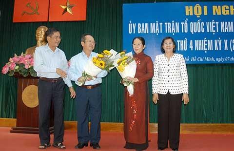 Ủy ban Mặt trận Tổ quốc TP.HCM có chủ tịch mới