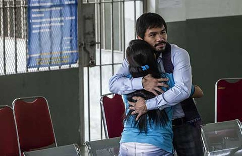Pacquiao cứu một phụ nữ thoát án tử