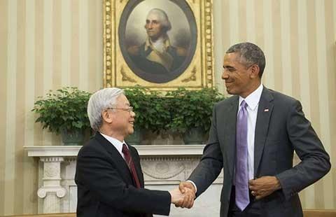 Thương mại là điểm sáng nhất trong quan hệ Việt - Mỹ