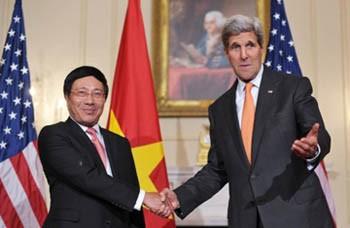Điện mừng nhân kỷ niệm 20 năm quan hệ ngoại giao Việt-Mỹ