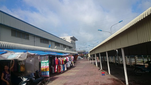 Long An: Xin mua lại trung tâm thương mại bỏ hoang
