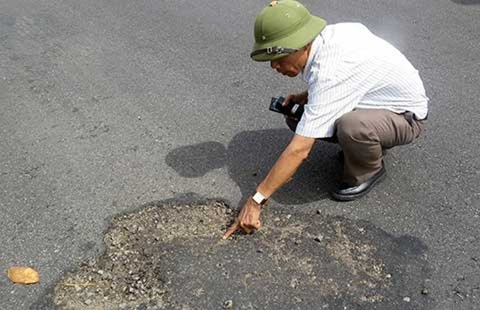 'Quốc lộ 1A bị phá có chủ đích'