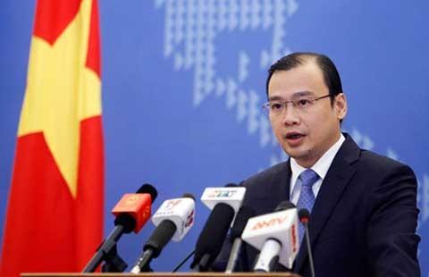Phản đối hành động của Trung Quốc ngăn cản ngư dân Việt Nam