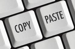 Lo ngại về các trang điện tử 'copy – paste'