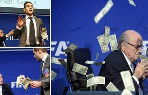 80 rồi, sao phải khổ thế ông Blatter!