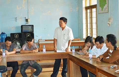 Cán bộ dùng bằng giả được vận động đi học, bố trí công tác khác