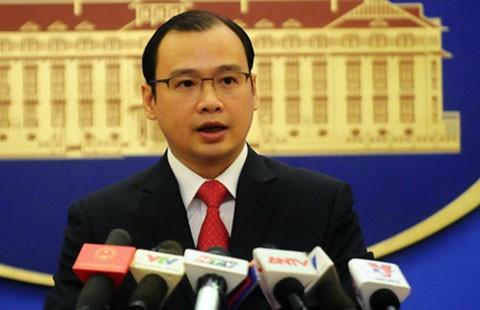 Phản đối Trung Quốc tập trận ở Hoàng Sa