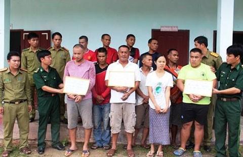 Bắt 11 người nước ngoài, thu nhiều tấn ma túy