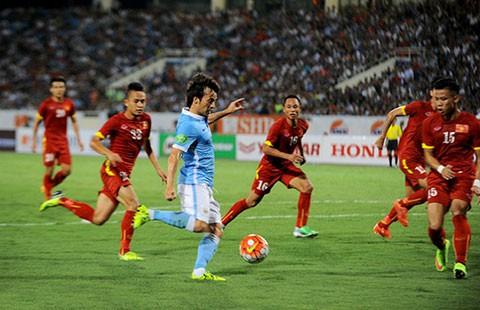 VN - Manchester City (1-8): Mưa gôn ngoạn mục!