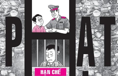 Bớt giam giữ, phạt tù người chưa thành niên