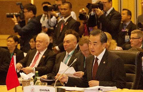 Trung Quốc bị chỉ trích ở hội nghị ASEAN
